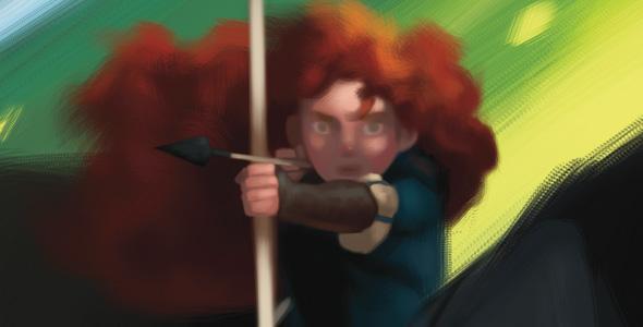 pixar brave merida. Merida from Brave