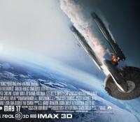 Starship down poster for 'Star Trek Into Darkness'