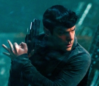 Spock (Zachary Quinto) means business