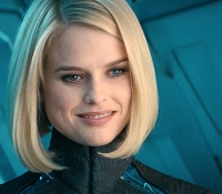 Alice Eve is Dr. Carol Marcus
