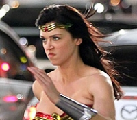 Wonder Woman is coming back to the small screen in a new live action series on NBC from David E. Kelley (Ally McBeal, Boston Legal, Harry's Law). Set to debut in the fall, the costume has received a lot of attention, and a lot of negative feedback, from fans. But let's admit it folks, whatever you want to think of Wonder Woman and her skills, her costume has always been a bit silly.