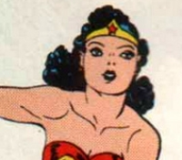 Going back to her early years, Wonder Woman was pretty much always fashion challenged. While depictions of her in the beginning were more tame, the costume was still comical. And how exactly was she fighting bad guys in high heels and a mini-skirt?