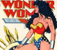 The Amazonian nature of her appearance eventually became more prominent, and DC clearly realized they'd sell more comics if they accentuated her... assets.
