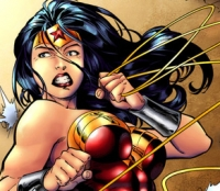 As such, most modern day images of Wonder Woman are hyper-sexual, with revealing curves, ample breasts and lots of leg.