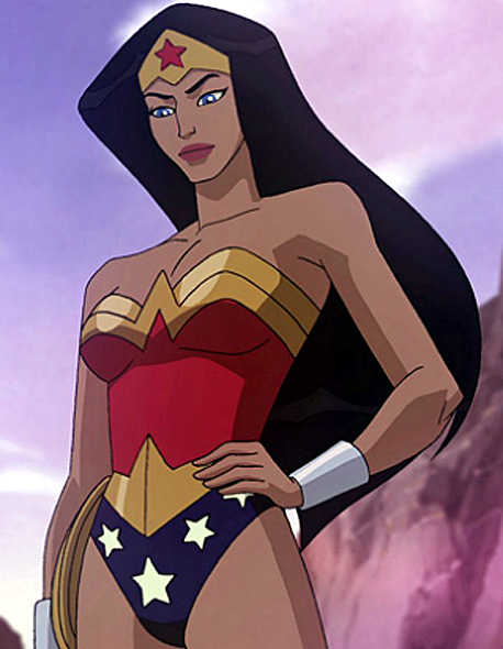 Because, let's face it, we watch Wonder Woman because she is the uber-woman. Strong with super powers...