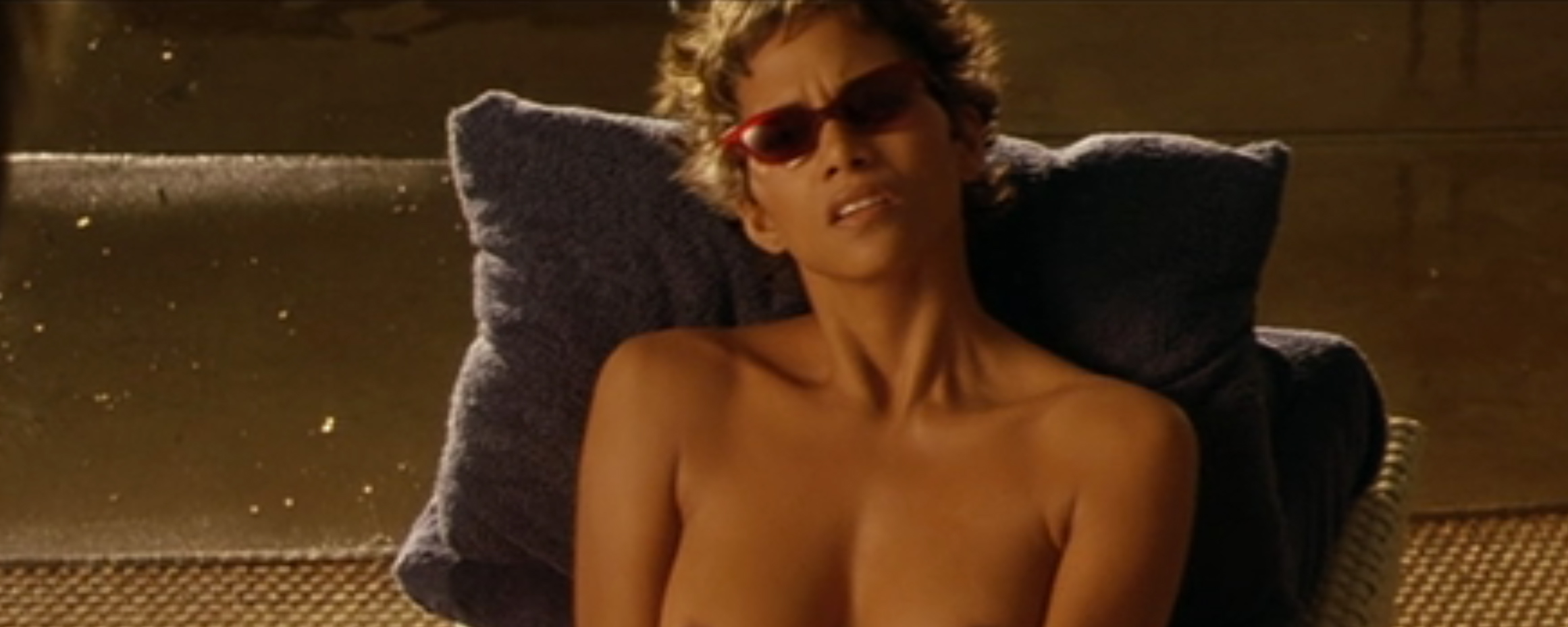 Seems me, Halle berry swordfish scene very