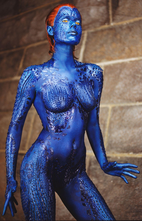 Topic rebecca romijn stamos as mystique pics confirm