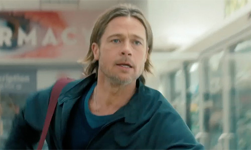 Pictures of Brad Pitt in World War z 'world War Z' Brad Pitt