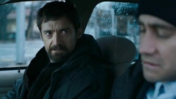 Hugh Jackman and Jake Gyllenhaal in 'Prisoners'