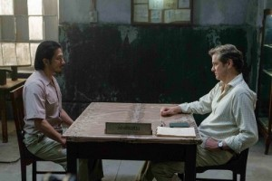 Hiroyuki Sanada and Colin Firth in 'The Railway Man'