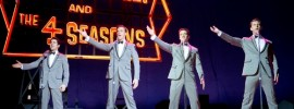 Vincent Piazza, John Lloyd Young, Erich Bergen and Michael Lomenda are The Four Seasons in 'Jersey Boys'
