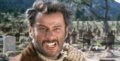 """Eli Wallach plays """"Tuco"""" one of the titular characters in """"The Good, the Bad and the Ugly"""""""