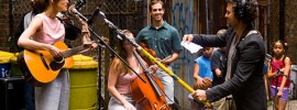 'Begin Again' is a story about the people who make beautiful music