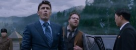 """James Franco and Seth Rogen get their first glimpse of the palatial home of Kim Jong-un in """"The Interview"""""""