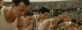 "Jack O'Connell portrays Louis Zamperini in ""Unbroken"""