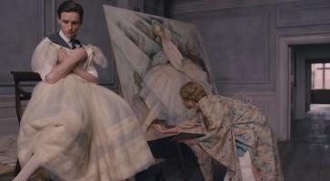 Eddie Redmayne and Alicia Vikander in 'The Danish Girl'