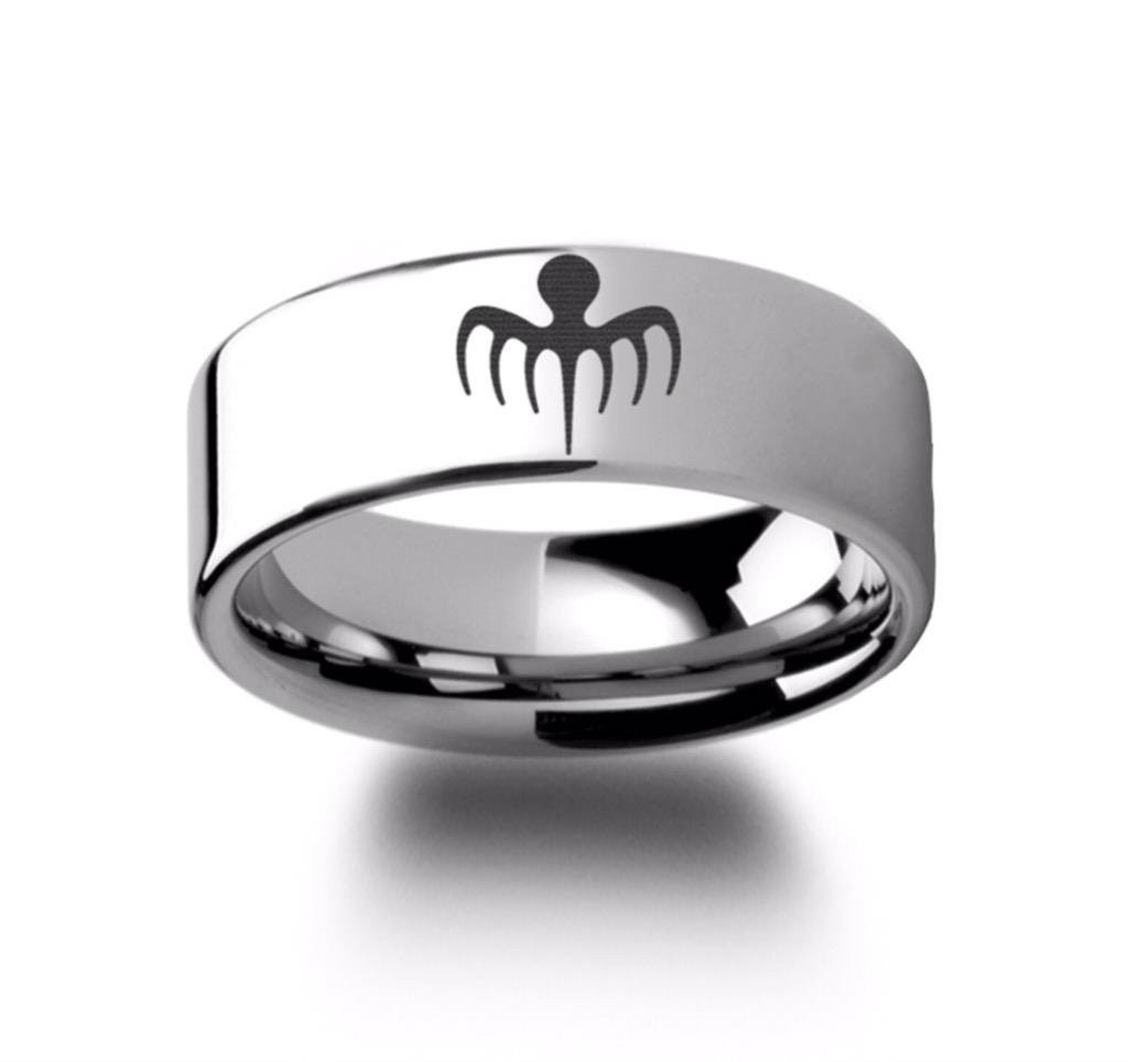A polished up version of the ring taken from the finger of Sciarra by Bond