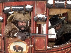 Kurt Russell and Samuel L. Jackson in 'The Hateful Eight'